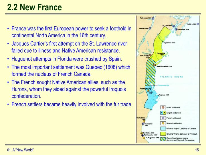 2.2 New France