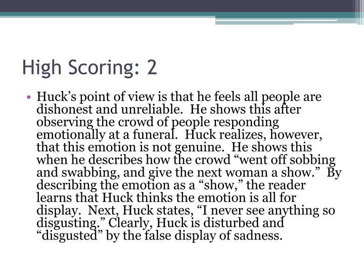 High Scoring: 2