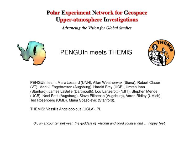 Penguin meets themis