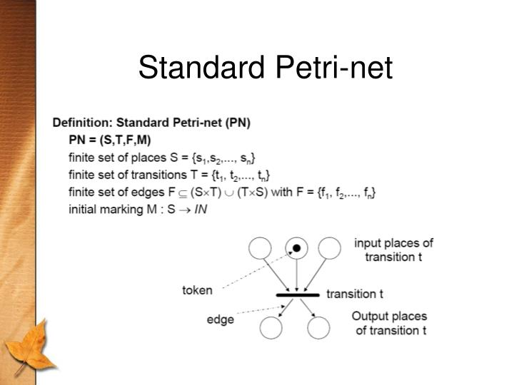 Standard Petri-net