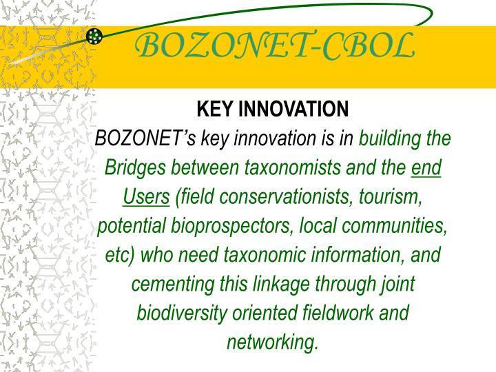 BOZONET-CBOL