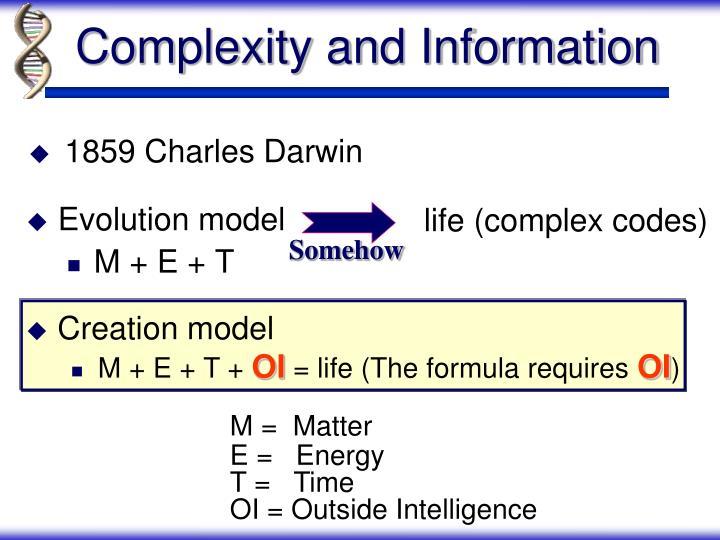 Evolution model