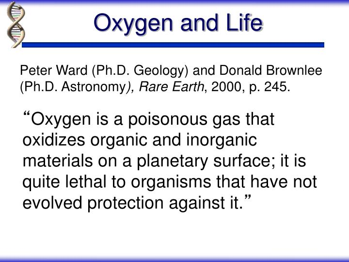 Oxygen and Life