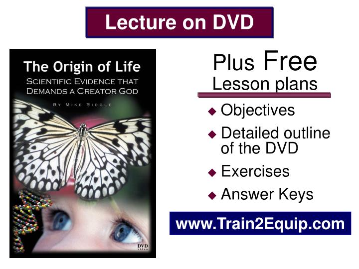 Lecture on DVD