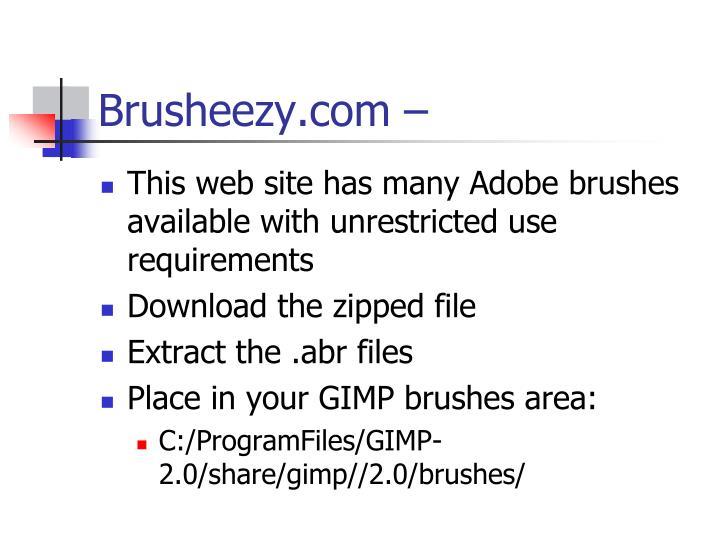 Brusheezy.com –