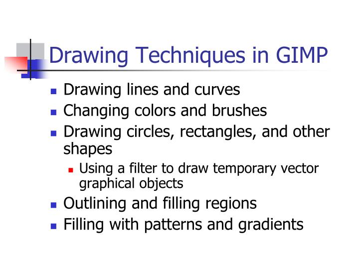 Drawing Techniques in GIMP