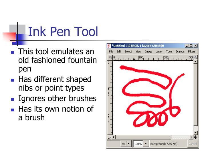 Ink Pen Tool