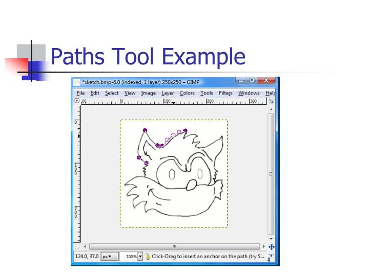 Paths Tool Example