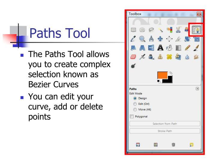 Paths Tool