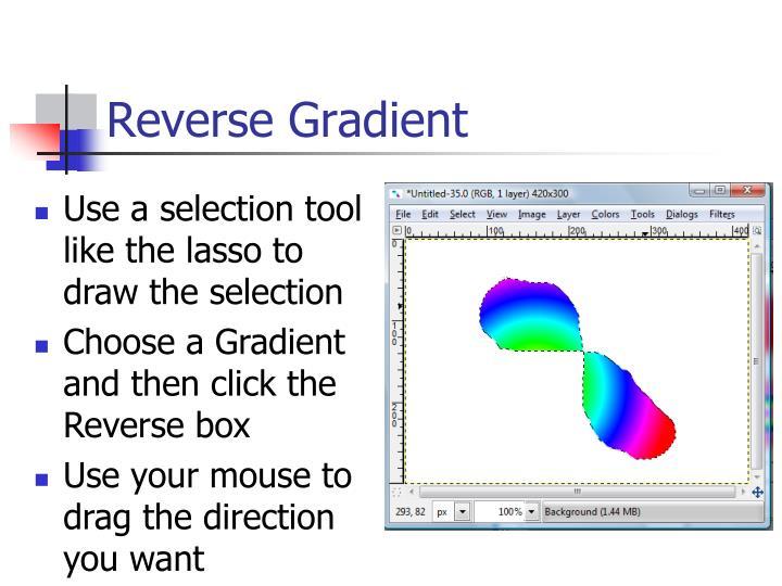 Reverse Gradient