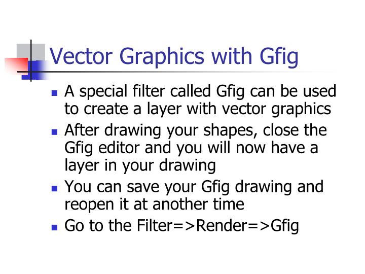 Vector Graphics with Gfig
