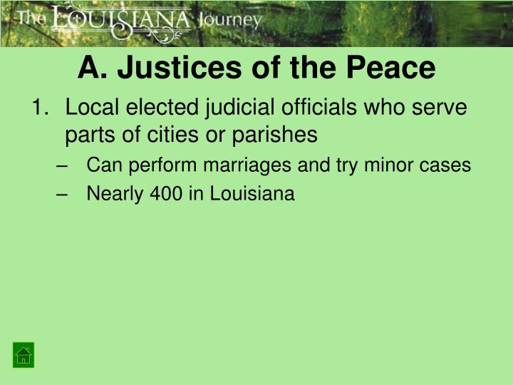 A. Justices of the Peace