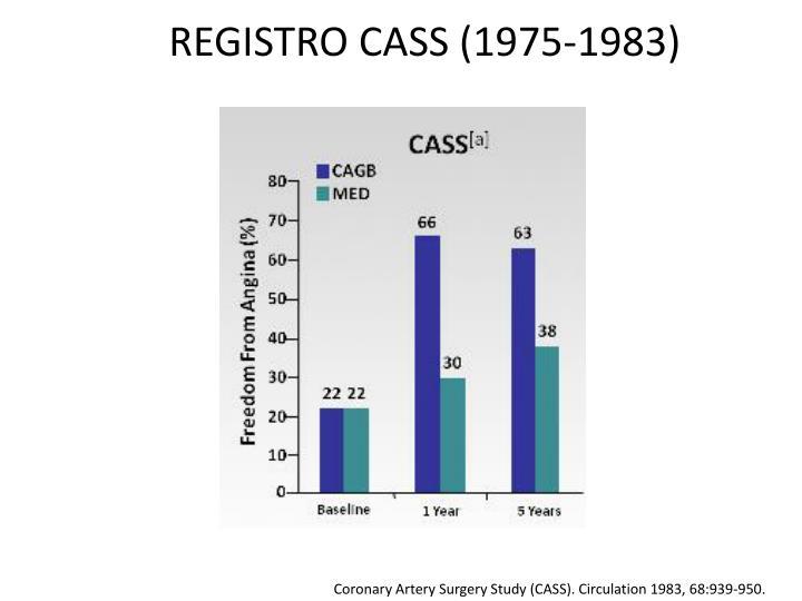 REGISTRO CASS (1975-1983)