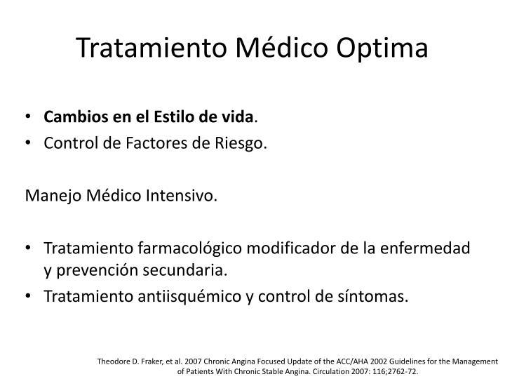 Tratamiento Médico Optima
