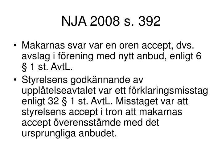 NJA 2008 s. 392