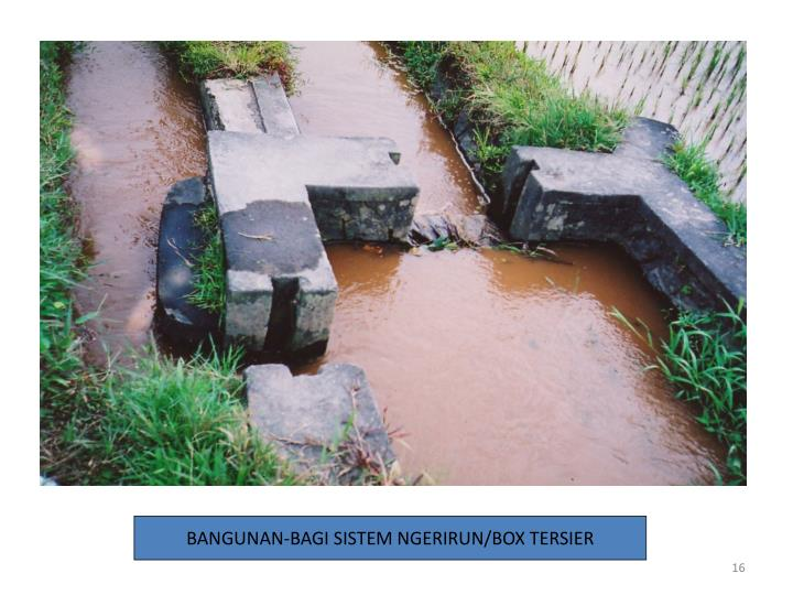 BANGUNAN-BAGI SISTEM NGERIRUN/BOX TERSIER