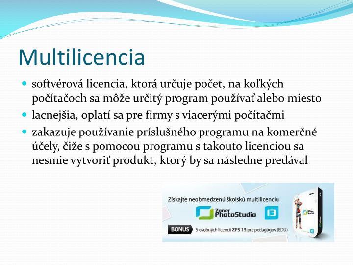 Multilicencia