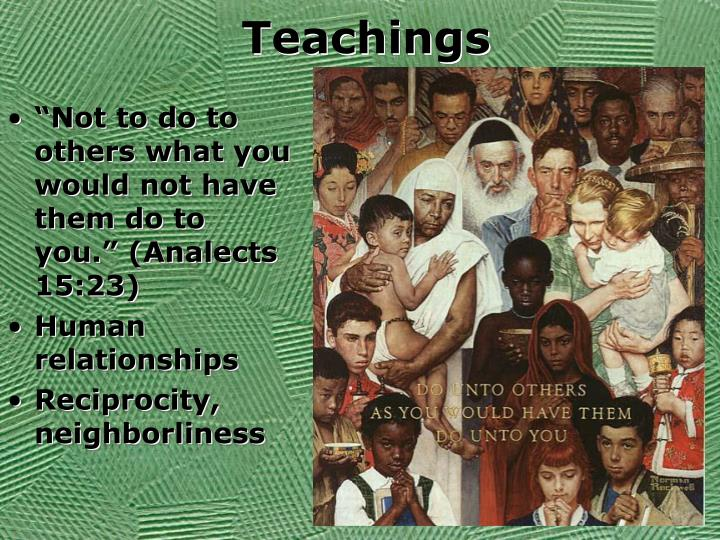 Teachings