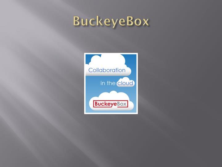 BuckeyeBox