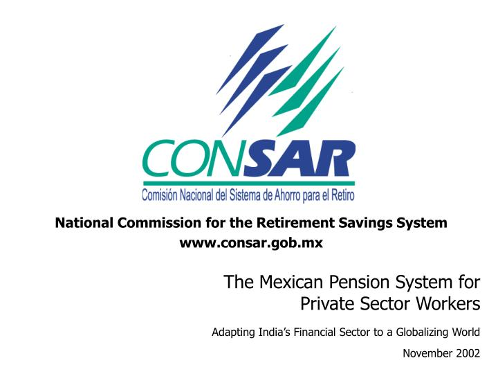 National Commission for the Retirement Savings System
