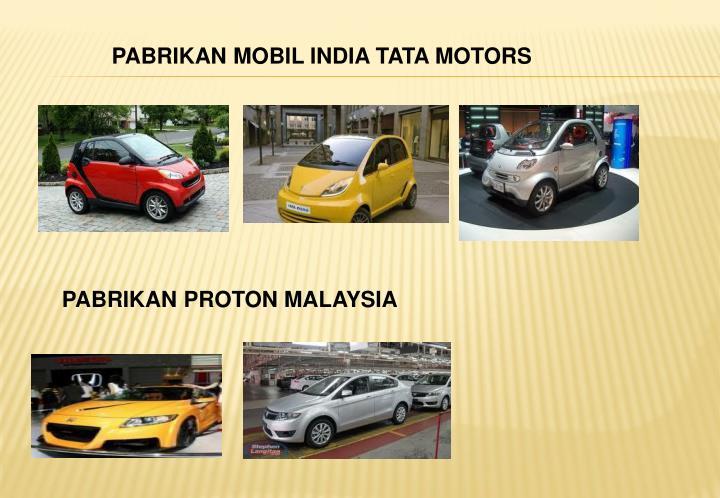 PABRIKAN MOBIL INDIA TATA MOTORS