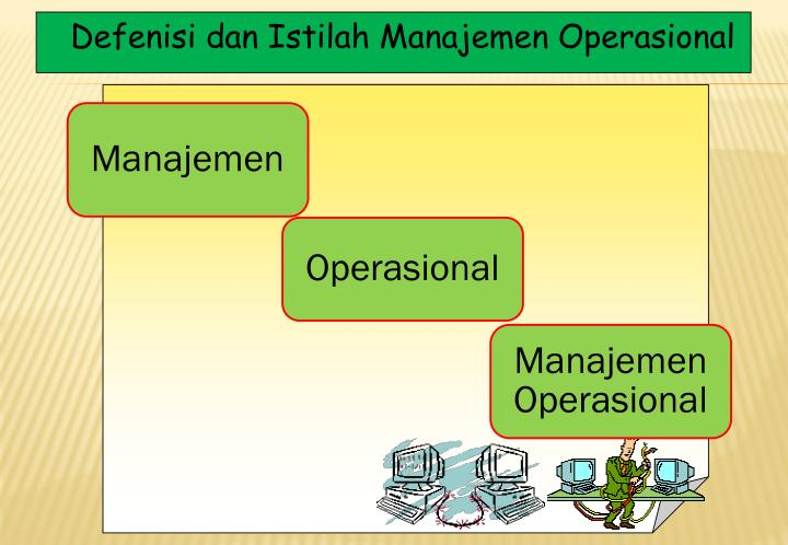 Defenisi dan Istilah Manajemen Operasional