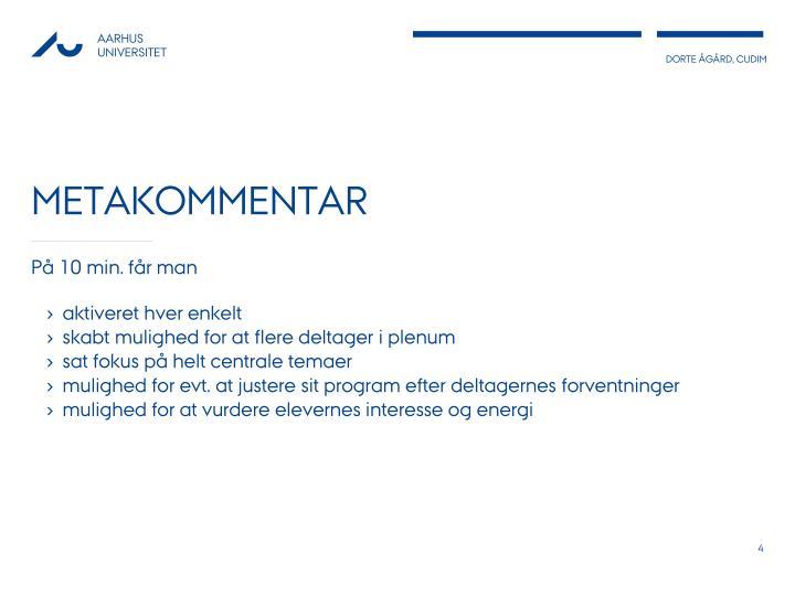 metakommentar