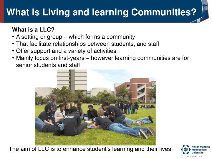 What is Living and learning Communities?