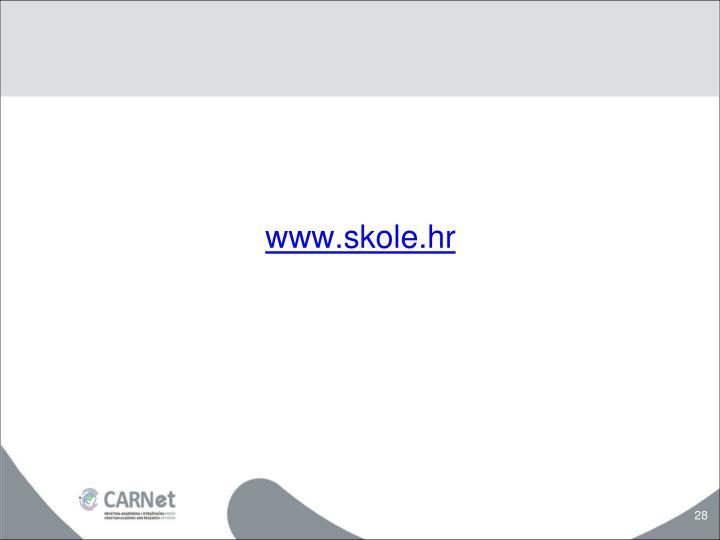 www.skole.hr