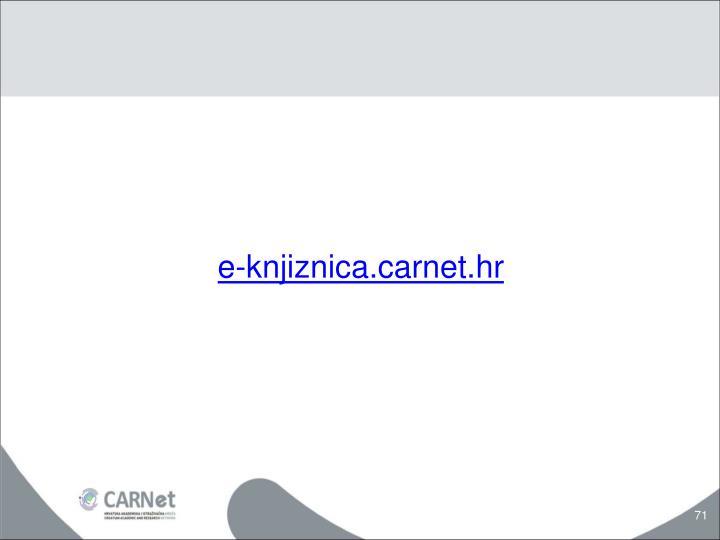 e-knjiznica.carnet.hr