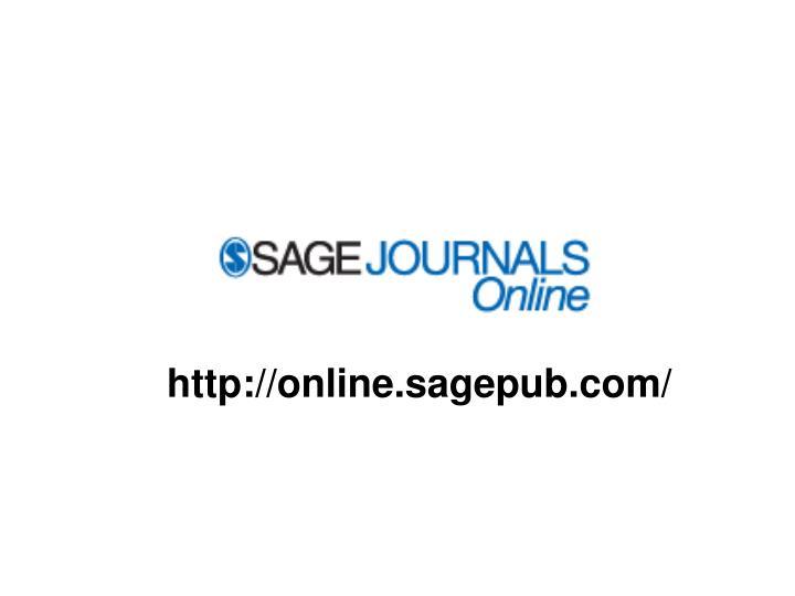 http://online.sagepub.com/