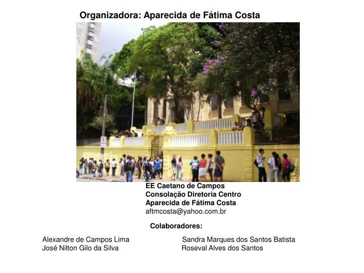 Organizadora: Aparecida de Fátima Costa
