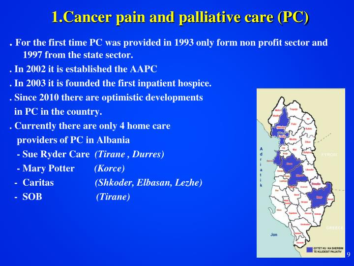 1.Cancer pain and palliative care (PC)