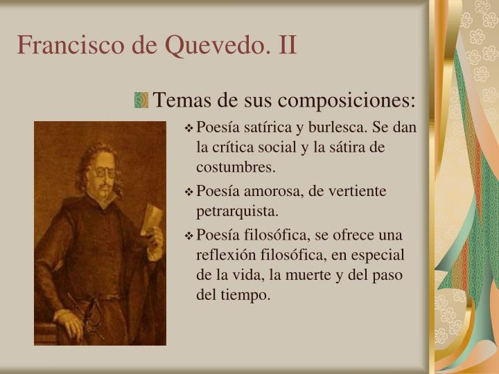 Francisco de Quevedo. II