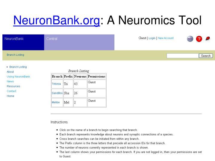 NeuronBank.org