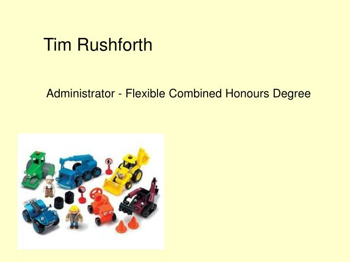 Tim Rushforth