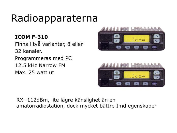 Radioapparaterna