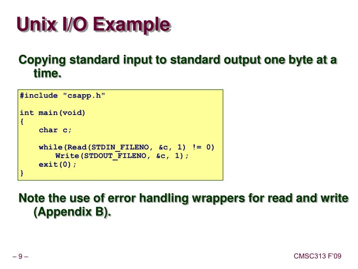 Chapter 6 -- File IO and Serialization