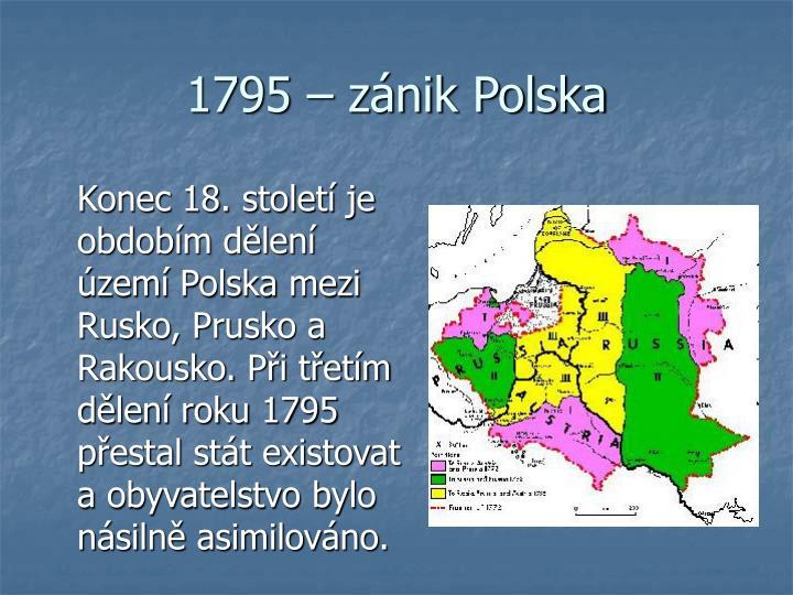 1795 – zánik Polska