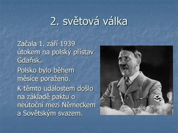 2. světová válka
