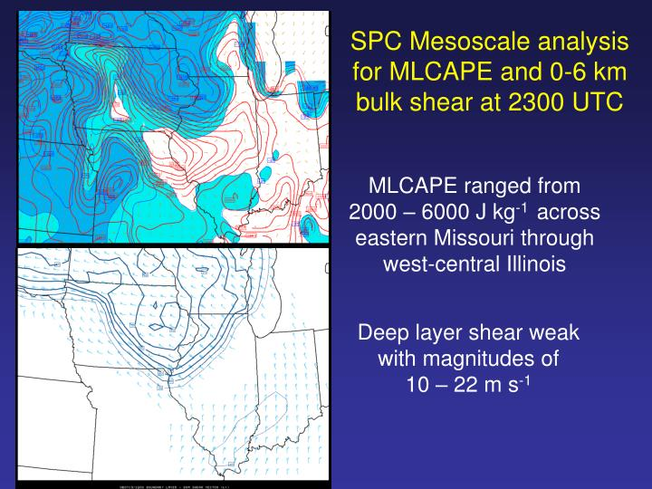 SPC Mesoscale analysis