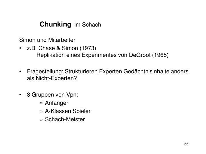 Chunking