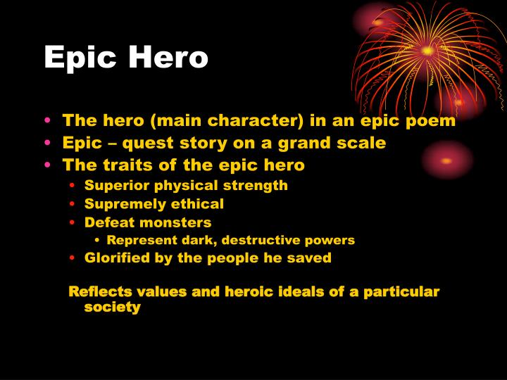 beowulf is an epic hero essay A beowulf epic hero essay might compare the work to the other epic heroism poems of the greeks - the iliad or the odyssey other beowulf essay questions may relate to the themes of this work consider the following universal themes in literature.
