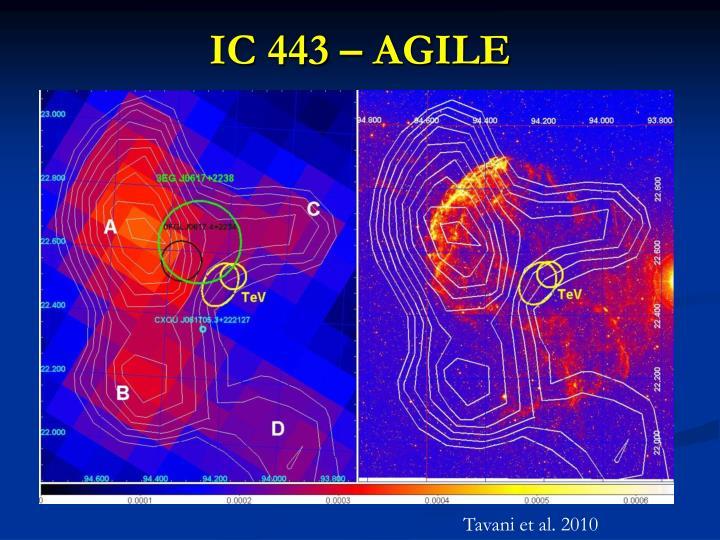 IC 443 – AGILE