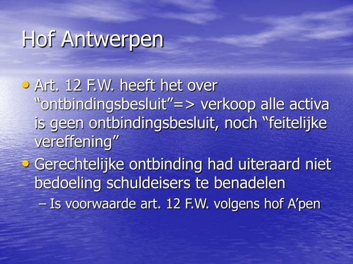 Hof Antwerpen