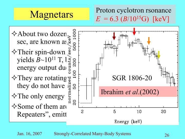 Magnetars
