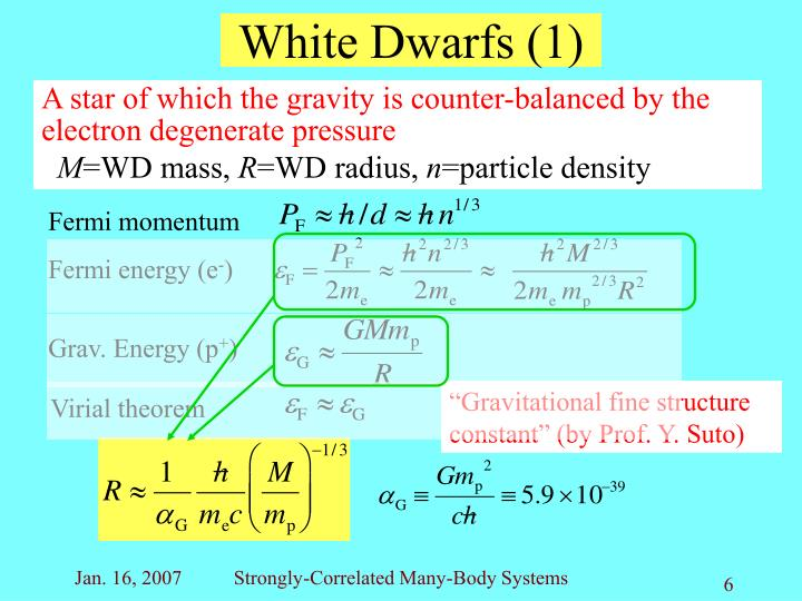"""Gravitational fine structure constant"" (by Prof. Y. Suto)"