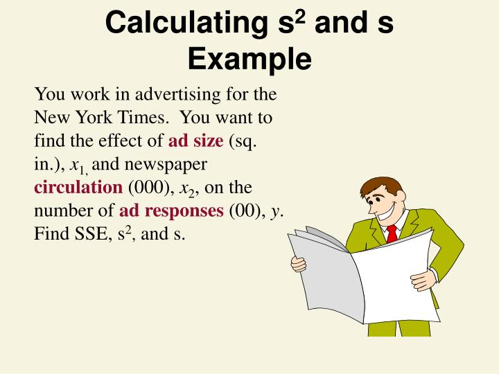 Calculating s