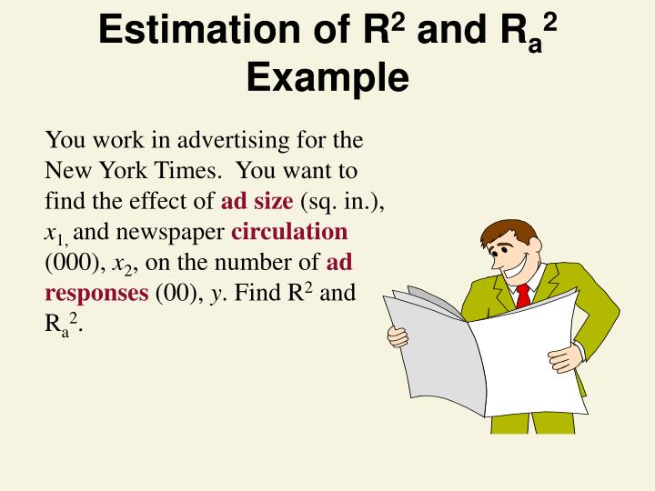 Estimation of R