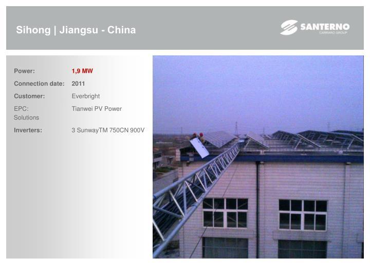 Sihong | Jiangsu - China